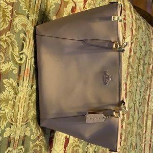 Beige Coach Pocketbook